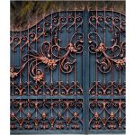 Magnificent Wrought Iron gate Left