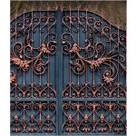 Magnificent Wrought Iron gate Right