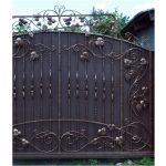 Wrought Iron Gate Right